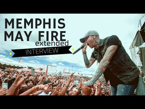 Memphis May Fire Interview- October 15, 2017