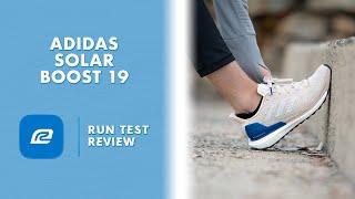 Municipios Intento Memoria  Adidas Solar Boost 19 Run Test Review | Shoe Review | Versus Solar Boost 19  ST - YouTube