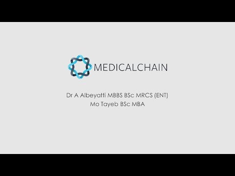 MedicalChain  | Dr A Albeyatti & Mo Tayeb  | Blockchainers S