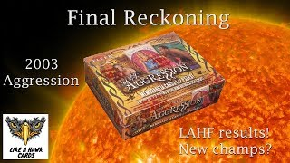 2003 Fleer WWE Aggression Hobby Box -  LAHF Event PPV - Final Reckoning!