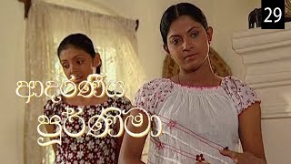 Adaraniya Purnima | Episode 29 (ආදරණීය පූර්ණිමා) Thumbnail
