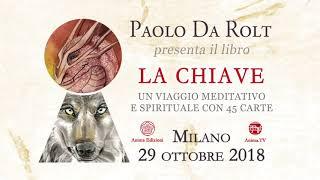 """Evento: Paolo Da Rolt presenta il libro """"La Chiave"""" – Milano, 29/10/2018"""