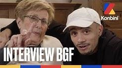 Mister V et sa grand-mère - On parle de beuh, de bon coup et de dentier | Konbini