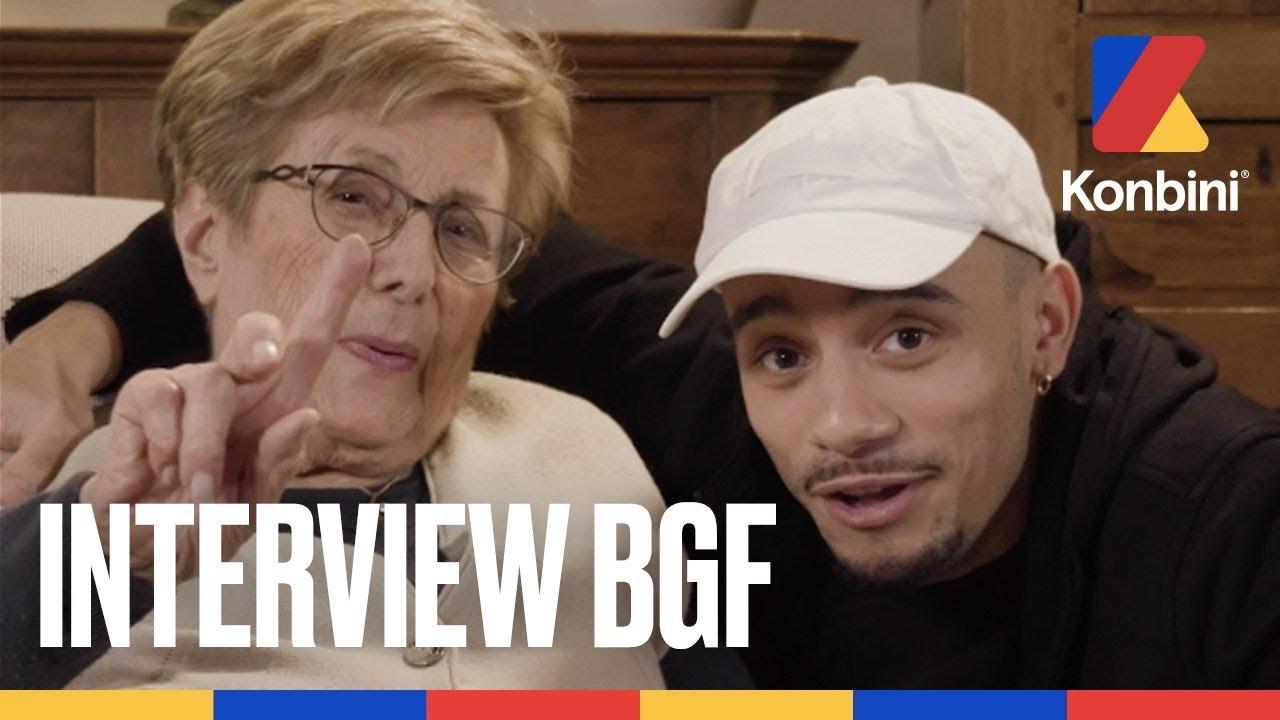 Mister V et sa grand-mère – On parle de beuh, de bon coup et de dentier | Konbini