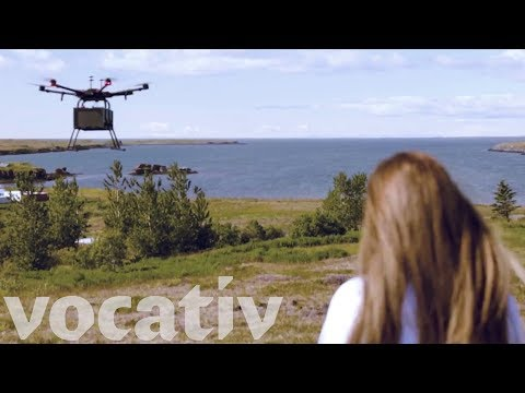The World's First Consumer Drone Delivery Service Lifts Off In Iceland