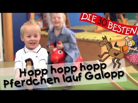 Hopp hopp hopp Pferdchen lauf Galopp - Singen, Tanzen und Bewegen || Kinderlieder