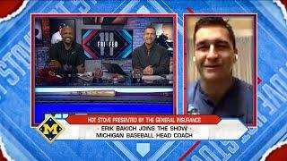 Michigan baseball coach Bakich discusses 2020