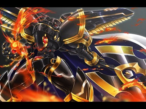 Digimon Links Road To Getting +4 Alphamon - YouTube