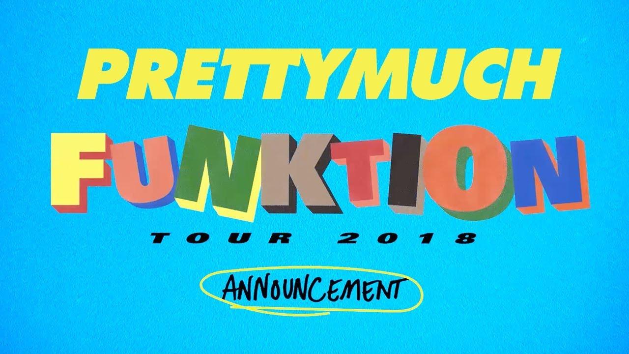prettymuch tour announcement youtube