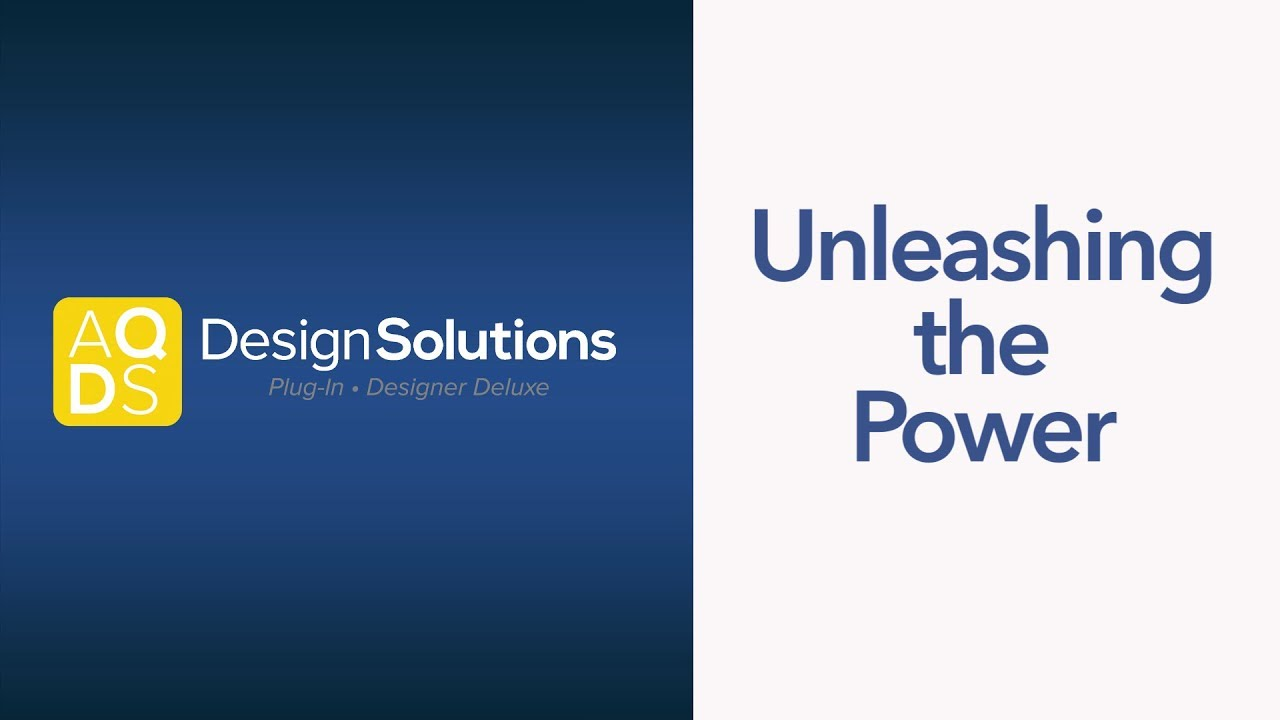 AQ Design Solutions – Unleashing the Power Series