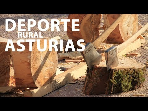video about Asturian rural sport