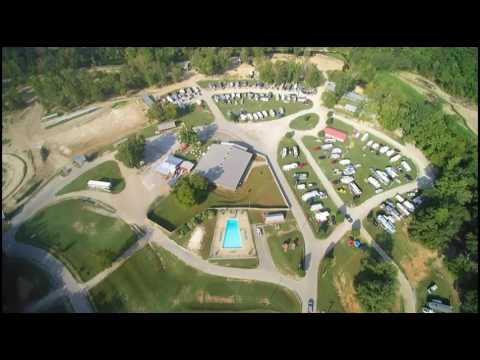 Arial view Loretta Lynn ranch lower campground and stage - YouTube