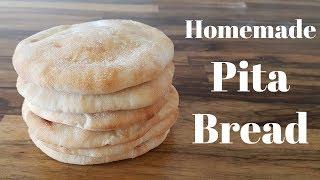 How to Make Homemade Pita Bread | Pita Recipe
