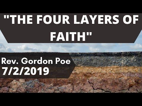 "Gordon Poe – ""The 4 levels of Faith"""