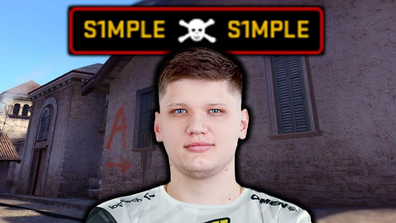 Как S1MPLE умудрился Разбиться на ПРО турнире в Москве?