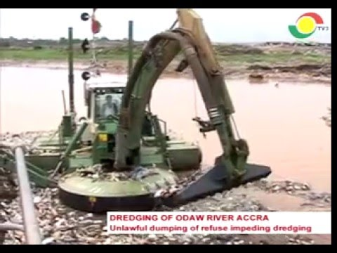 News360 - unlawful dumping of refuse impeding dredging of Odaw river  - 25/3/2016