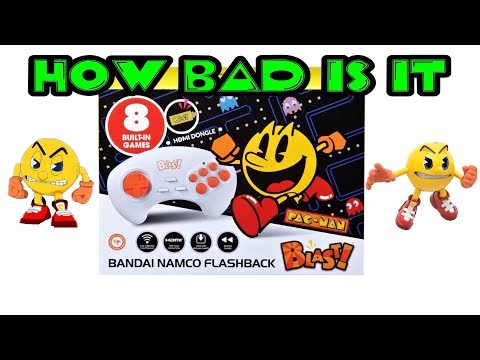 AtGames HD Bandai Namco Flashback Blast Review; How Bad Is It?