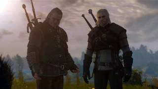 The Witcher 3 walka z gryfem (PC)[HD](PL)