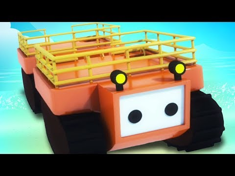 Evacuation Craft | 3D Vehicle Cartoon Cars | Videos For Chil