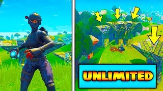NOUVEAU FORTNITE GLITCH : UNLIMITED PORT-A-FORT GRENADES - NEW INSANE FORTNITE GLITCHES 2018
