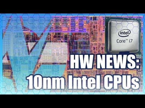 HW News: 10nm Intel CPUs, Record NVidia Revenue