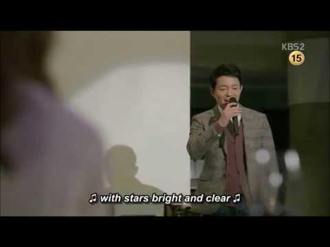 이범수 lee bum soo sing in drama PRIME MINISTER AND I
