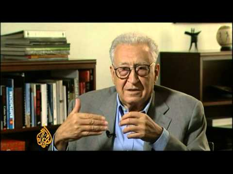 Lakhdar Brahimi talks to Al Jazeera