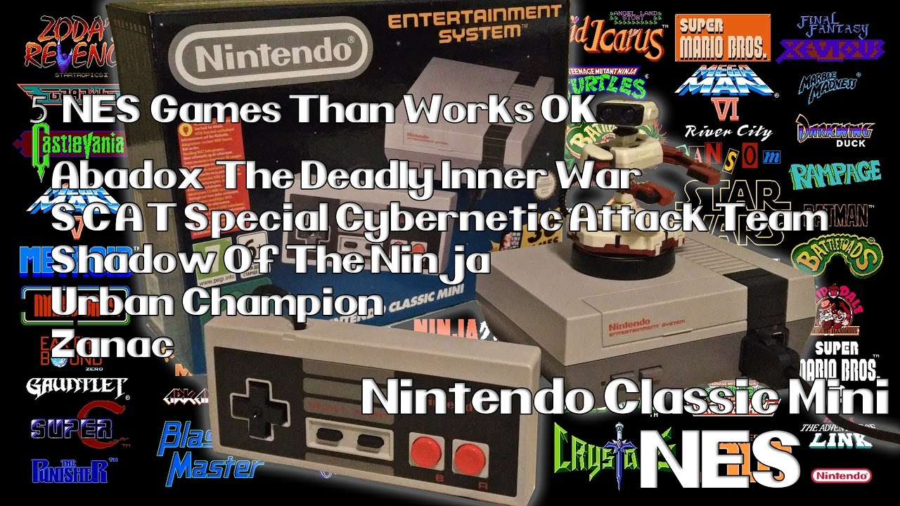 120 Juegos En La Mini Nes Classic 120 Total Games On Mini Nes