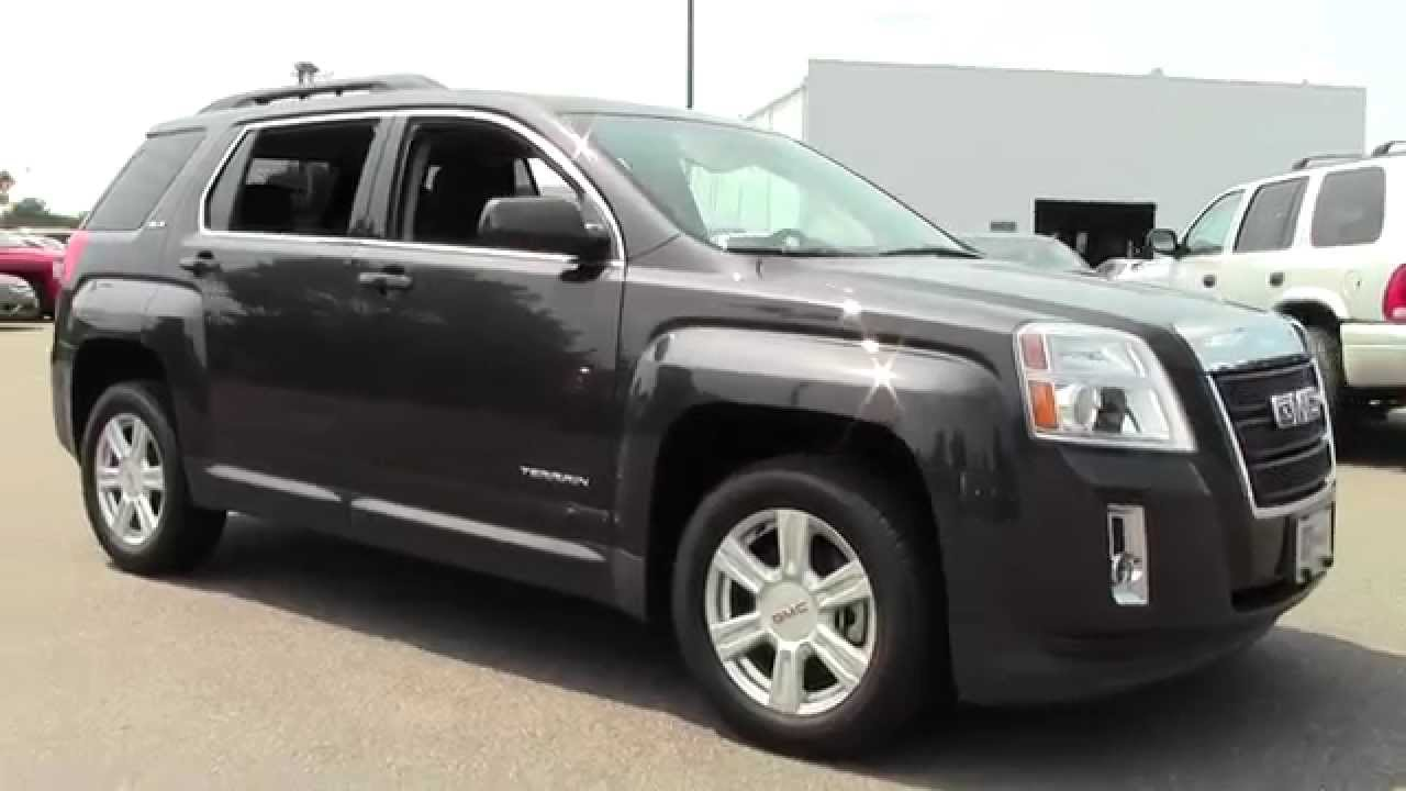2014 gmc terrain awd sle sle 2 6u140063 youtube. Black Bedroom Furniture Sets. Home Design Ideas