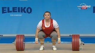Чемпионат Европы 2015. Женщины в.к. св. 75 кг.