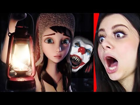 Reacting to the SCARIEST ANIMATIONS !