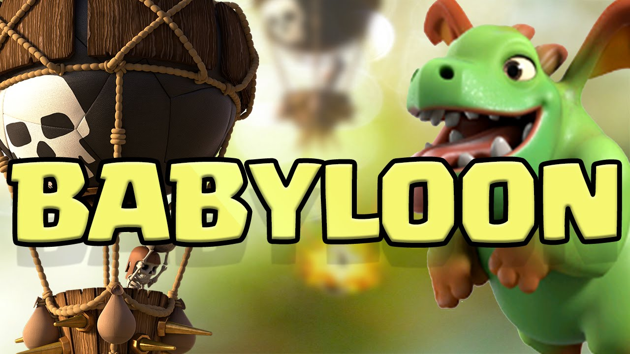 New Babyloon Strategy Legend Of The Last Baby Dragon Clash Of Clans Youtube