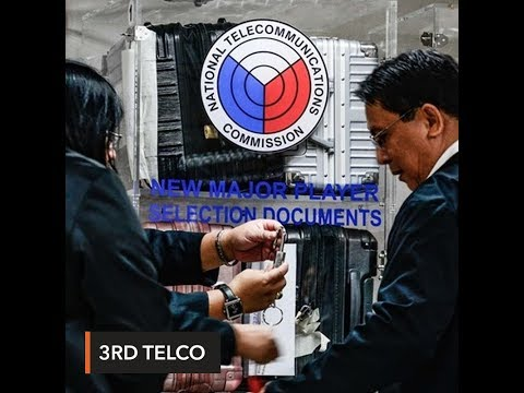 Dennis Uy-China Telecom consortium provisionally named 3rd t