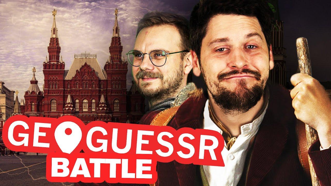 Knapp neben dem Roten Platz gelandet | GeoGuessr meets Wandertag mit Simon, Etienne & Lars