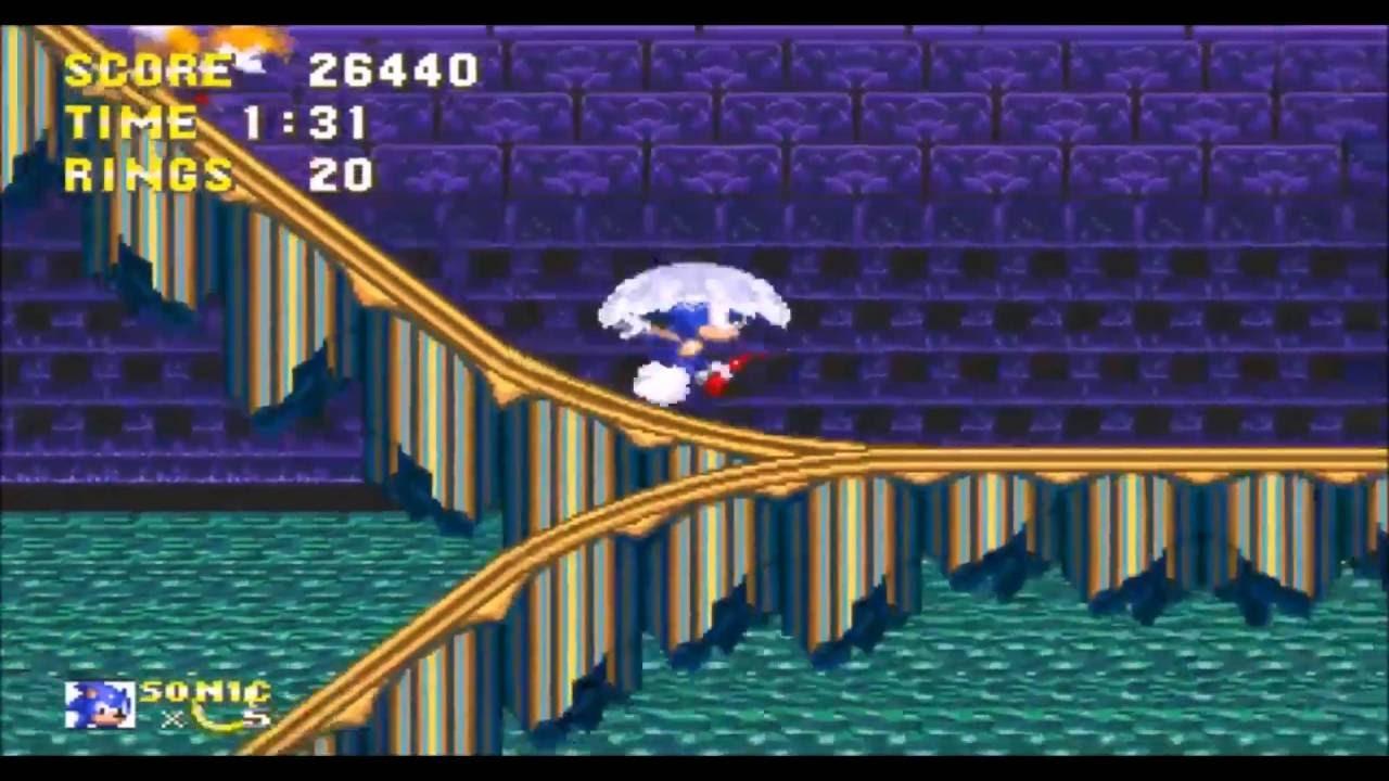 Sonic Hedgehog 3 Hydrocity Zone Act – Fondos de Pantalla
