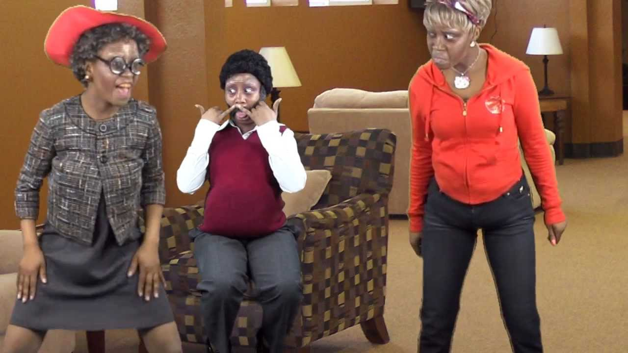GRANNY WEARING APPLE BOTTOMS/ DANCE OFF (DRAKE- Starting From The