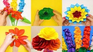 14 DIY Paper Flowers | Amazing Paper Flowers Craft ideas