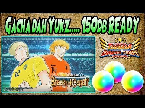 150db..GACHA DAH!! Let's GO KLUIVOORT & LEVIN for My Europe Team - Captain Tsubasa Dream Team