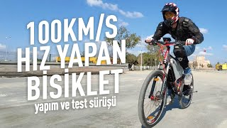 Making of 5000W Electric Bike wih 100KM/H Top Speed