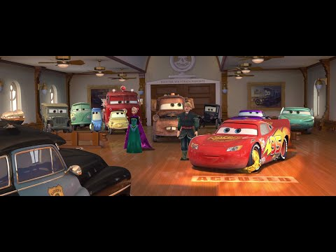 Disney & Others Meets Cars - Traffic Court