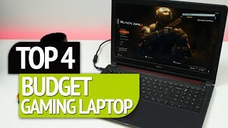 TOP 4 Best Budget Gaming Laptop 2018