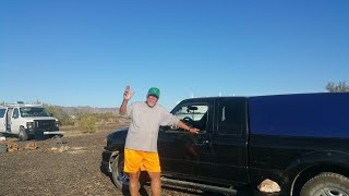 Mike lives in a 2011 Ford Ranger - Full time van life