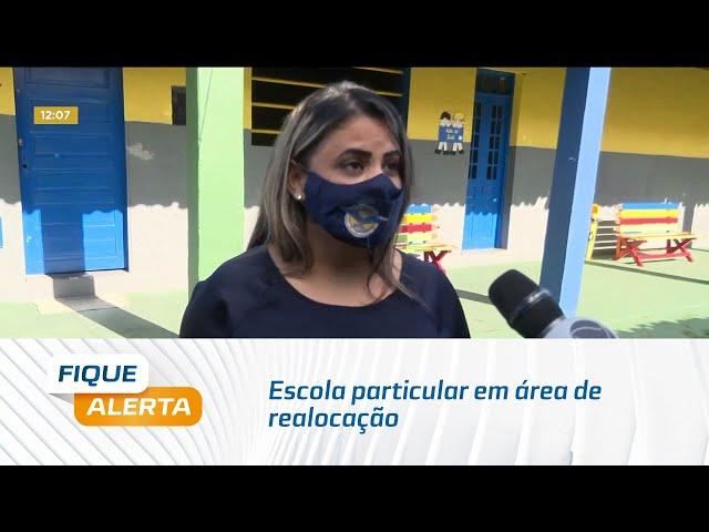 Escola particular em área de realocação no Pinheiro é arrombado