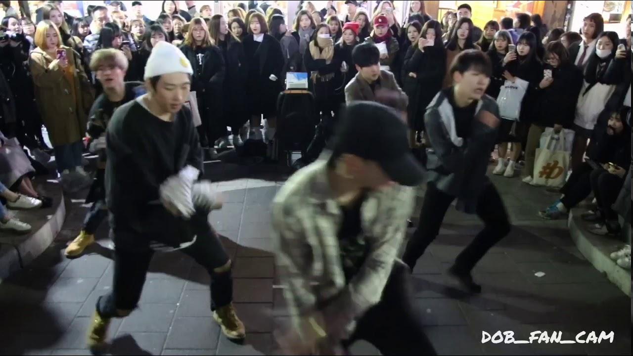 Download 180224 디오비 DOB 홍대공연 / 방탄소년단(BTS) - DNA