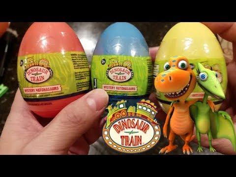 Dinosaur Train Mystery Hatchasaurs Suprise Eggs