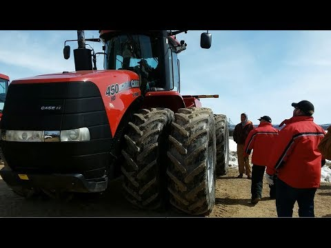 2012 CaseIH 450HD 4WD Tractor with 2,528 Hours Sold on Southeast Minnesota Farm Auction Friday