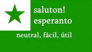 Un idioma común, internacional, neutral, fácil y útil es el Esperanto / 2020