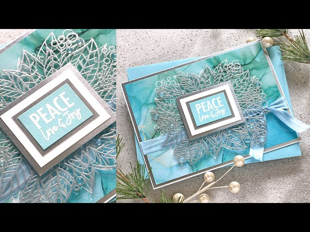 Avery Elle STAMPtember® 2021: Holiday Wishes Frame
