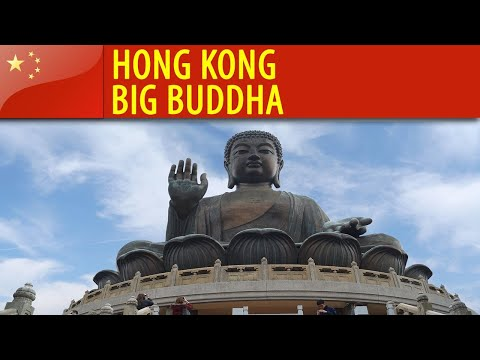Hong Kong - Big Buddha and Po Lin Monastery