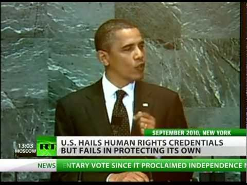 Empty Words: US human rights preaching fails in action